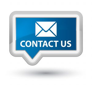 image that says contact us
